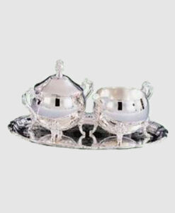 Cream and Sugar with Tray Silverplate