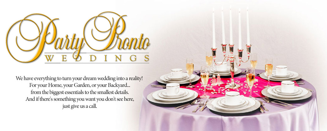 Party Pronto Weddings